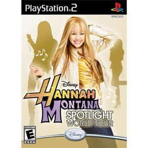 Hannah Montana Spotlight World Tour - PS2 Game