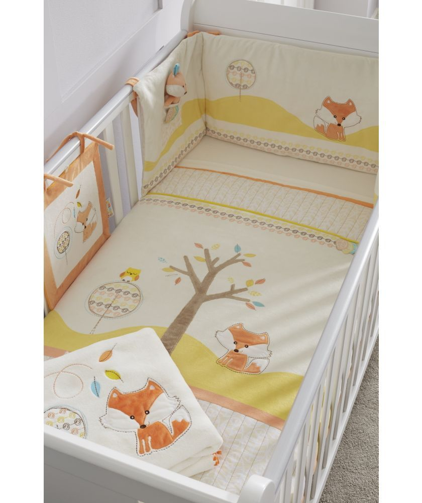 Tutti Bambini Woodland Walk 7 Piece Bedding Set At Argos