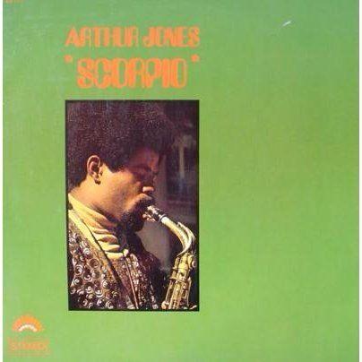 Arthur Jones Scorpio 1969 Vinyle Jazz Disque Vinyle