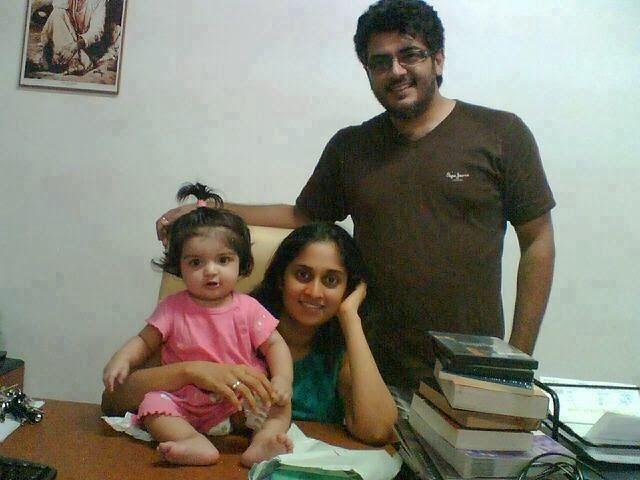 Tamil Wallpapers: ajith shalini family photos | Marthandam ...Ajith Family Album