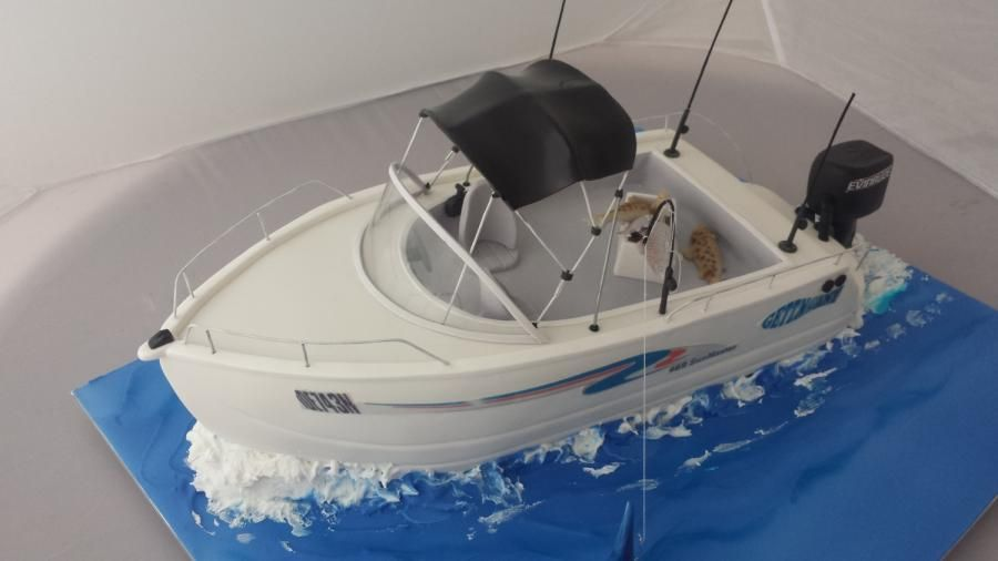 Birthday Cake Designs For Males  Boat Designs