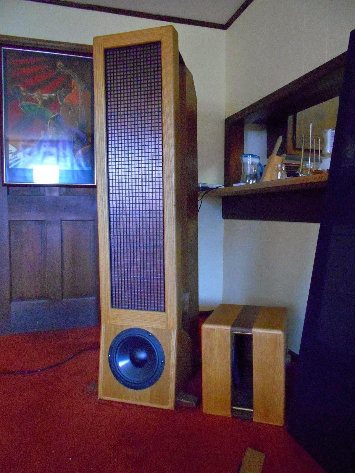 Jazzman's DIY Electrostatic Loudspeaker Page | Speaker Plans in 2019