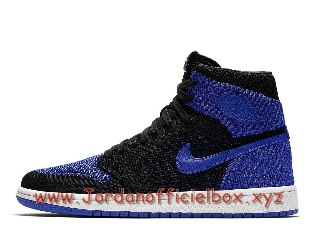 Air Jordan 1 Retro High Flyknit Royal 919704_006 Chaussures Air Jordan 2018  Pour Homme