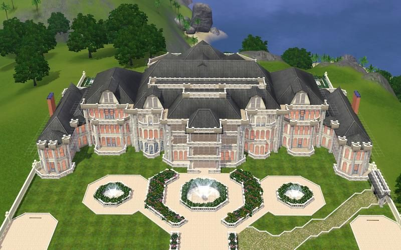 Shpyplayer S Bentley Mansion Mansions Sims Building Sims 4 Houses