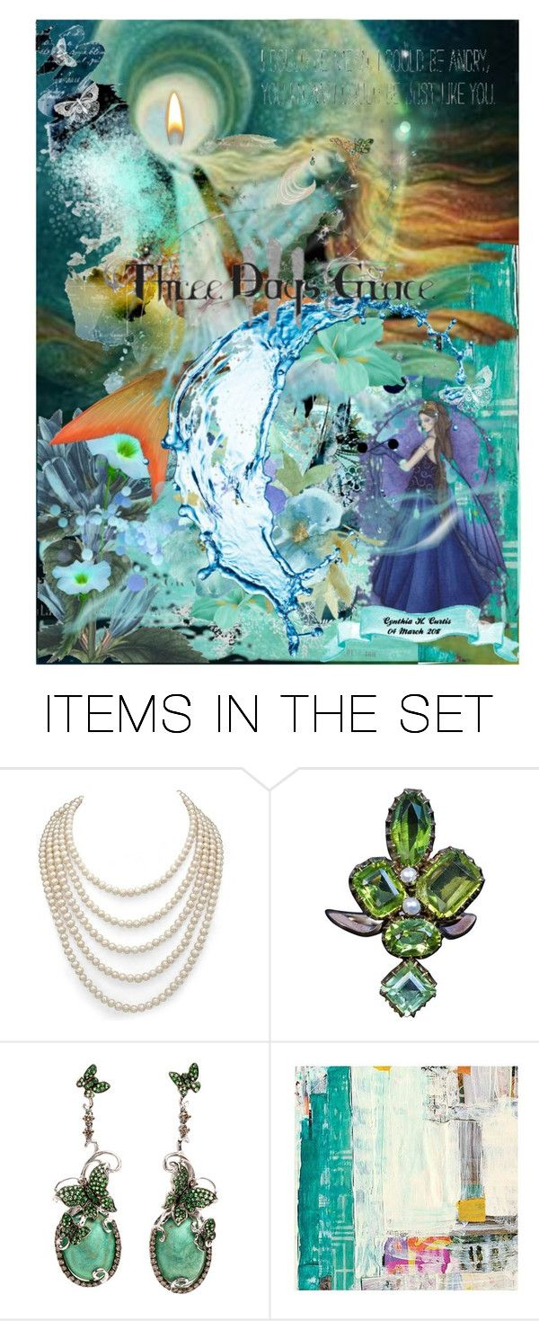 """""""Land & Sea"""" by cynthiahcurtis ❤ liked on Polyvore featuring art"""