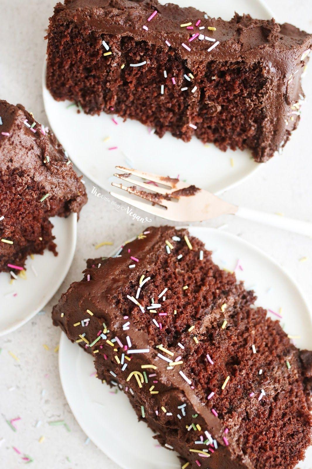 Vegan chocolate funfetti cake recipe in 2020 vegan