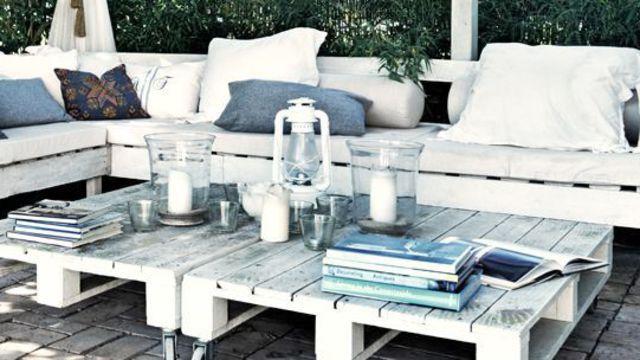 Côté Maison aime : voilà une déco de salon de jardin ambiance ...