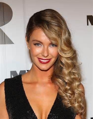 Side waves hair ponytail