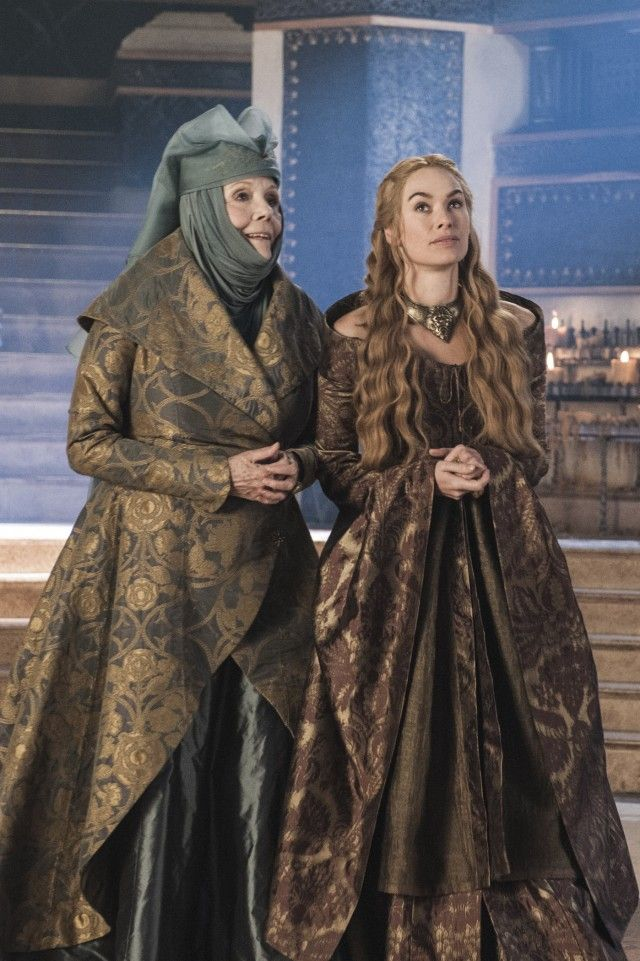 And Now His Watch Is Ended - Game of Thrones - Season Three: Episode 4 - Oleanna Tyrell and Queen Regent Cersei Lannister