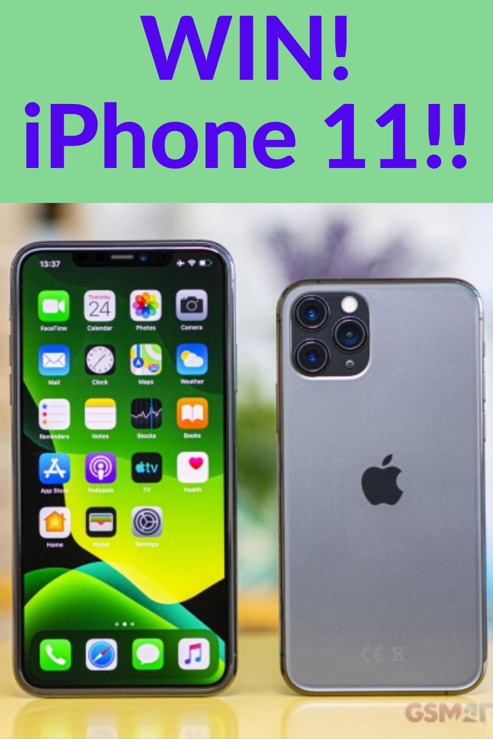 Win A Brand New Iphone 11 Pro Only For Canada In 2020 Iphone Apple Store Gift Card Iphone 11