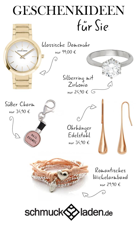 Weihnachten 2014: Schmuck & Uhren als Geschenkideen für Sie ...