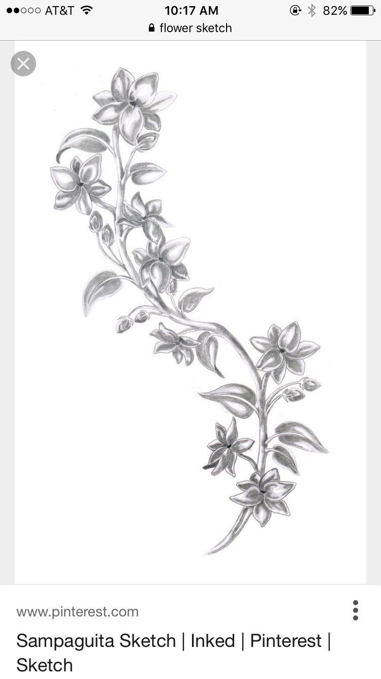 Pin by Autumn Willaert on Tattoo Jasmine flower tattoos