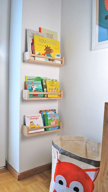 THE THREE YEARS PROJECT: Neues Bücherregal für\'s Kinderzimmer ...