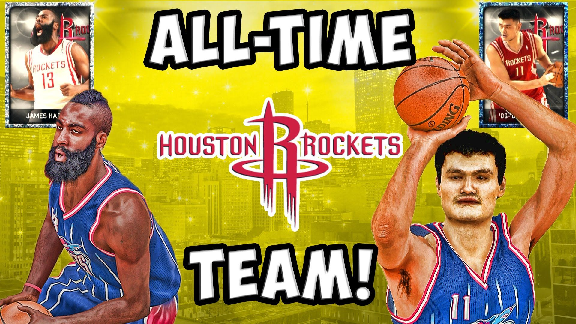 fc2939a91d4 Clutch City! All-Time Houston Rockets Team! NBA 2K15 MyTeam Gameplay ...