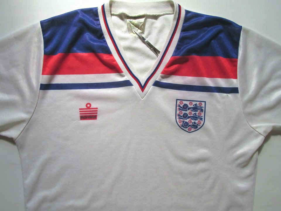 3558fb605 england 1980/1981/1982/1983 home football shirt by admiral vintage 80s  jersey soccer #forsale #englandteam #worldcup #80s #80sfootball #rare  #vintage ...