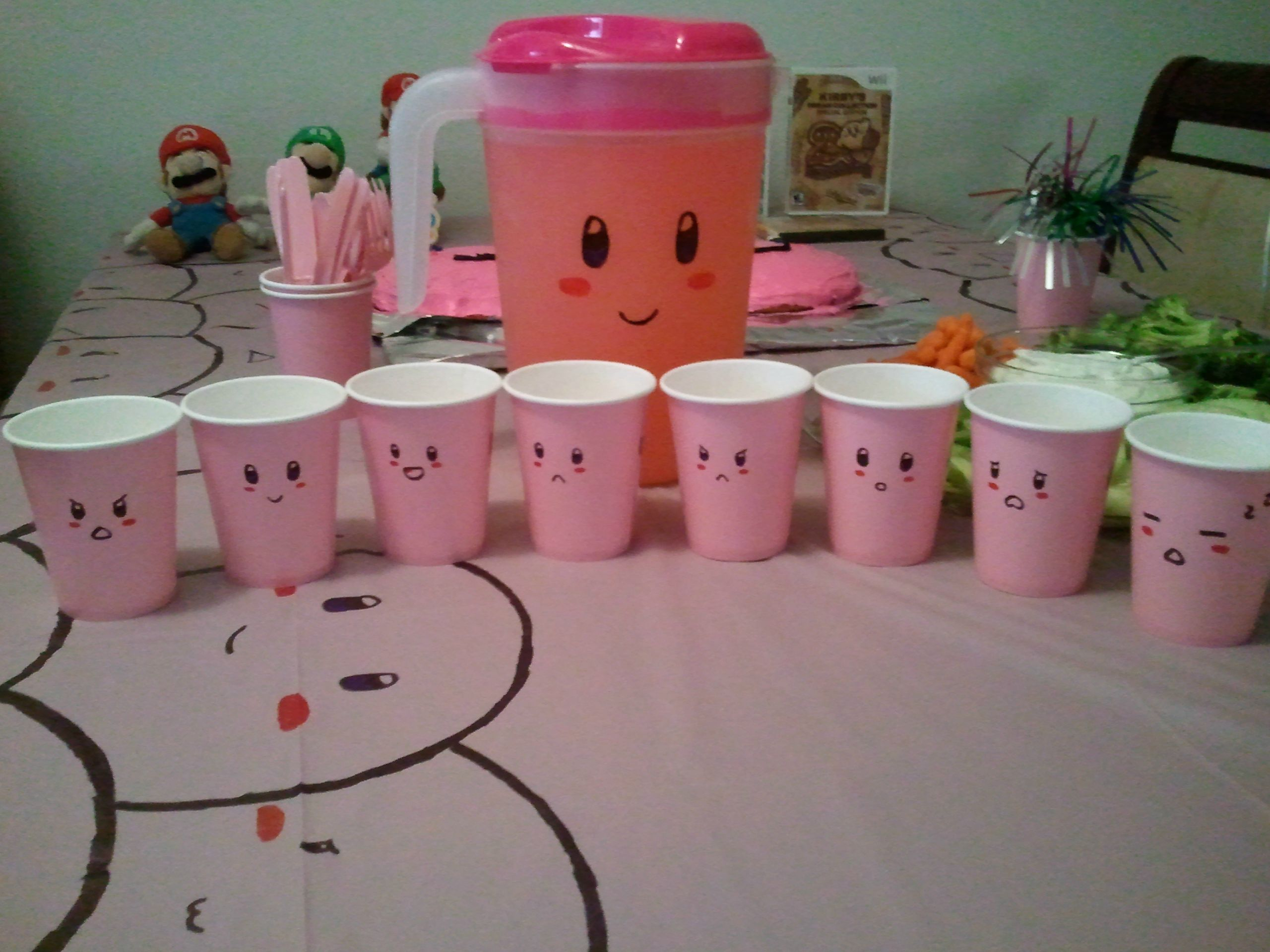 My daughter\'s Kirby birthday party [Archive] - Natsume\'s Community ...