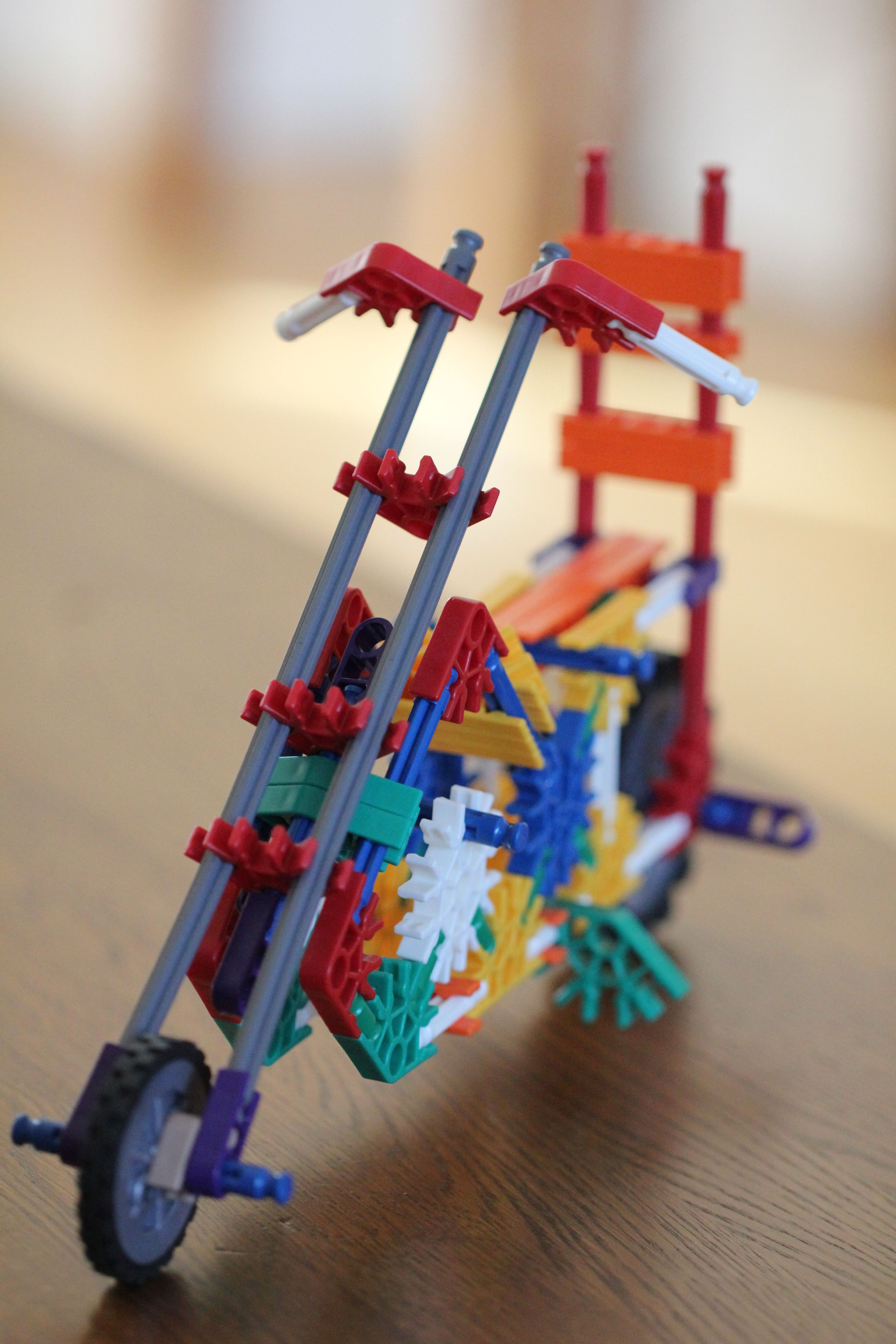 K NEX Chopper Don t know who had more fun building these me or