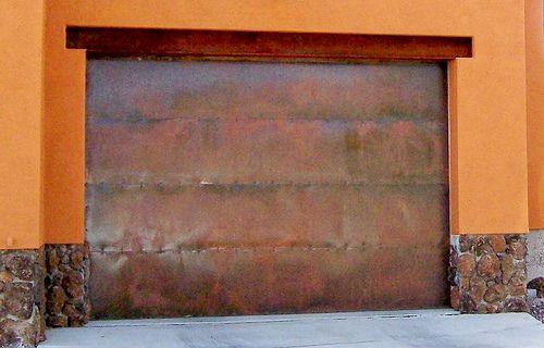 Copper Metal Garage Doors Garage Doors Garage Door Types