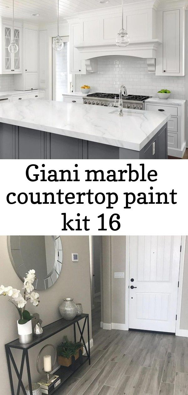 Giani DIY Marble Countertop Paint Kit. Get the highend