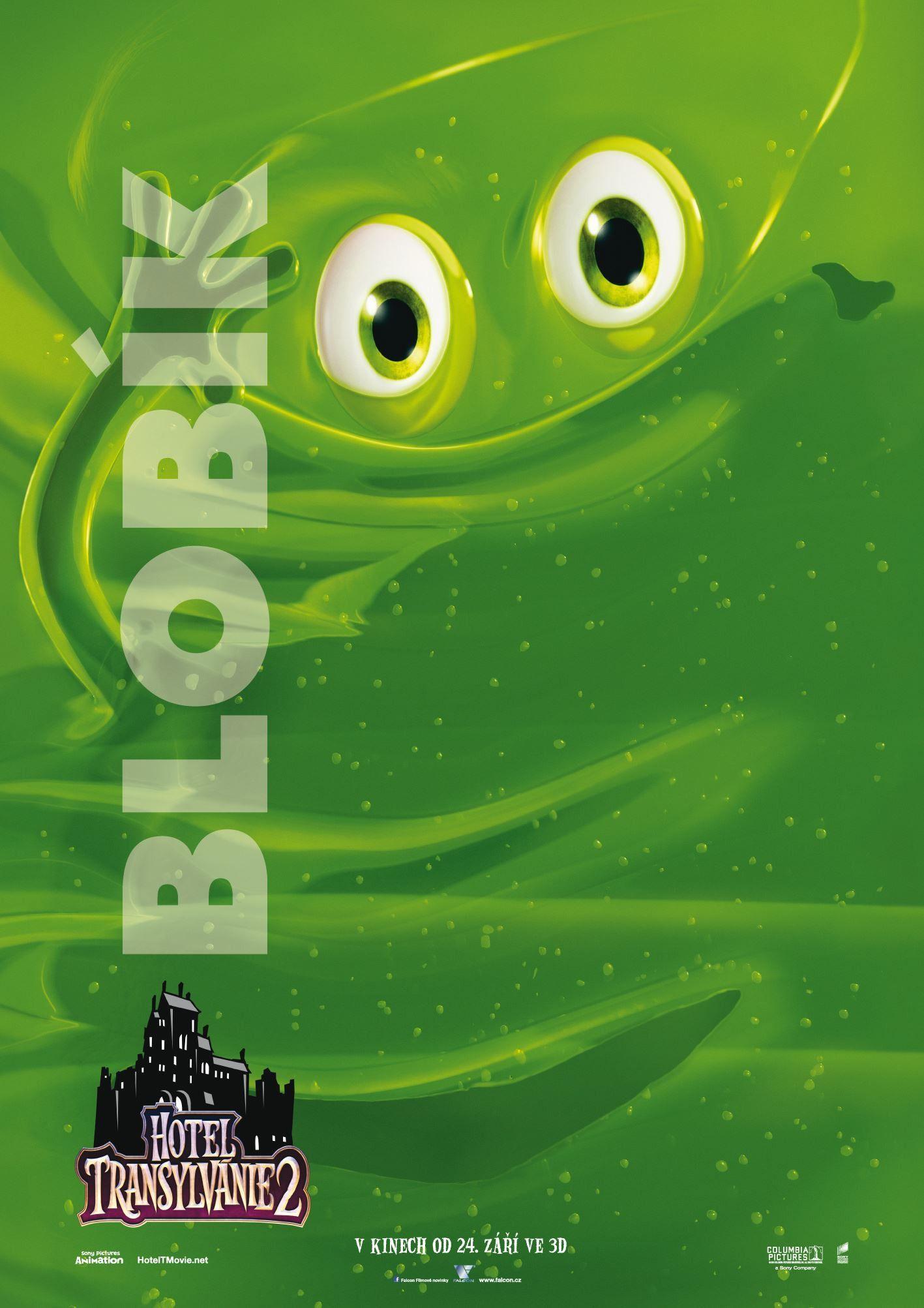 Hotel Transylvania 2 Green Blob