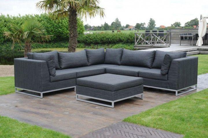 ibiza gartensofa alu textilene garten gartenm bel. Black Bedroom Furniture Sets. Home Design Ideas