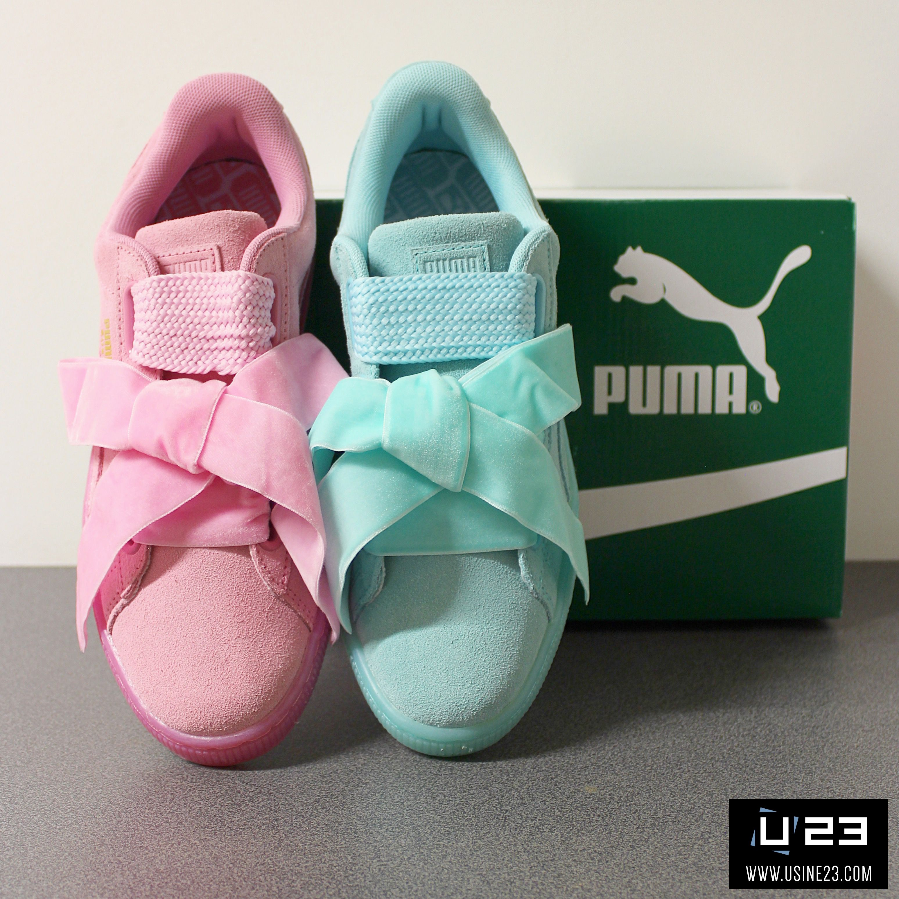 sneakers femme puma suede heart reset wns ubrania pinterest puma suede and pumas. Black Bedroom Furniture Sets. Home Design Ideas