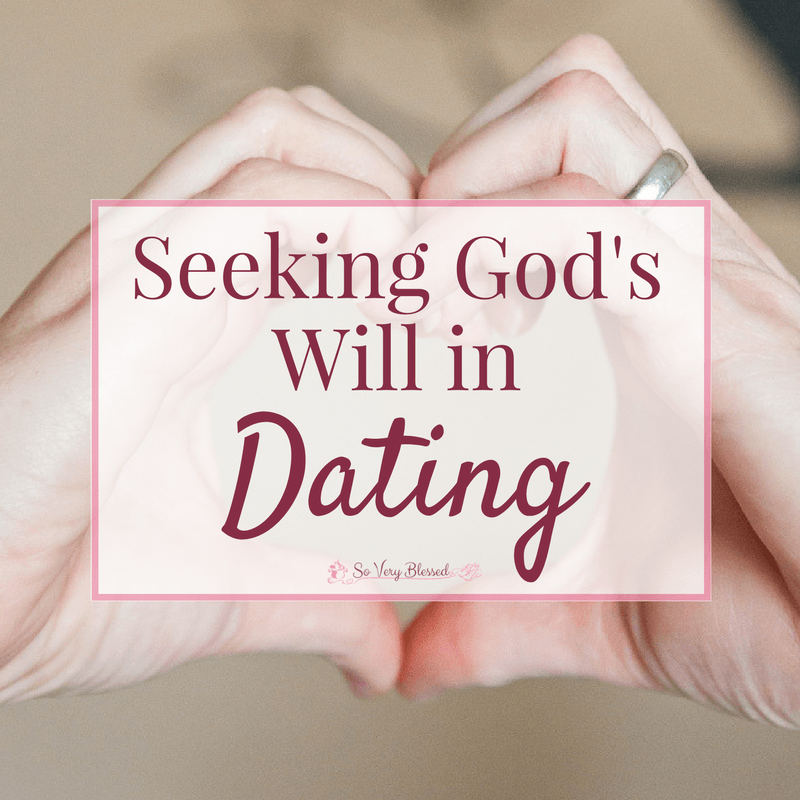 Gods will in dating relationships
