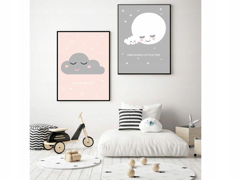 Zestaw Plakatow Dla Dzieci A4 Chrzest Roczek 7429764364 Oficjalne Archiwum Allegro Home Decor Home Decor Decals Decor