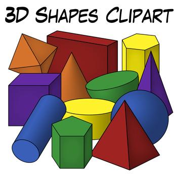 3d shapes clip art geometric solids classroom clipart geometric rh pinterest com clipart geometry shapes géométrie clipart