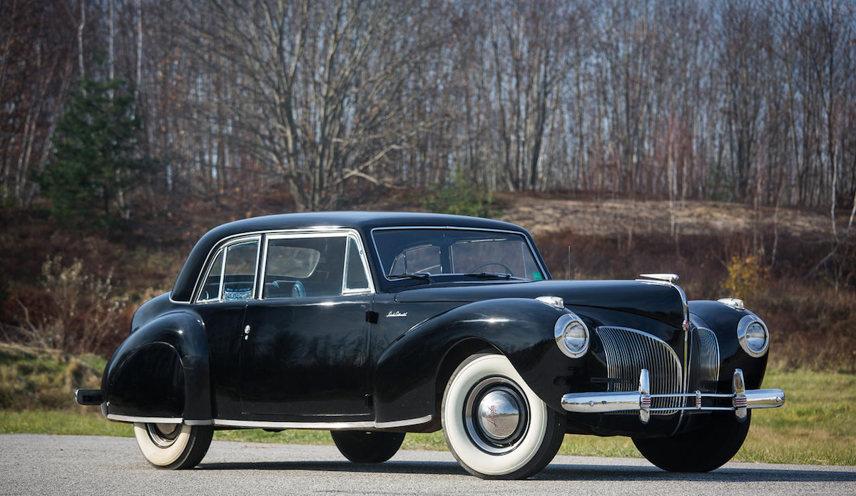 Lincoln Continental Coupè 1941, one of the Godfather movie cars for ...