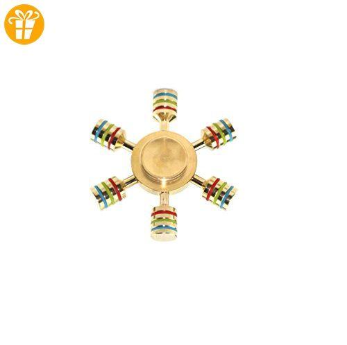 Fidget Spinner Toys Hand Spinner Finger Spielzeug für Kinder und Erwachsene Spielzeug Geschenke ,Metallherstellung(SYWJ-025) (A) - Fidget spinner (*Partner-Link)