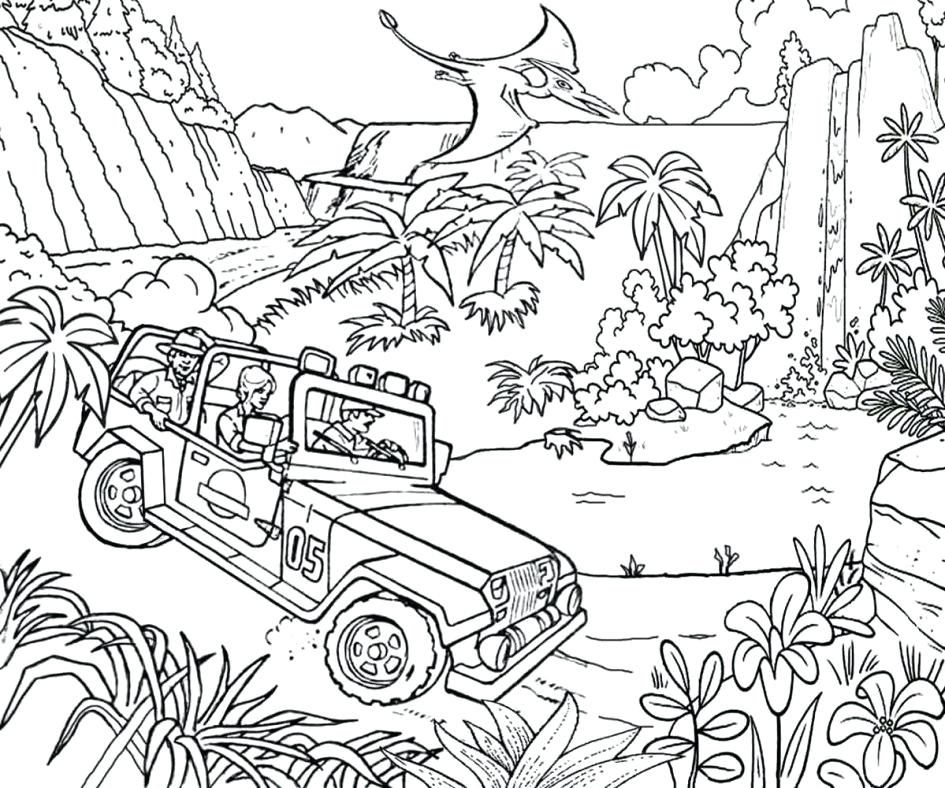 Jurassic Park Coloring Page 2409576 Dinosaur Coloring Pages