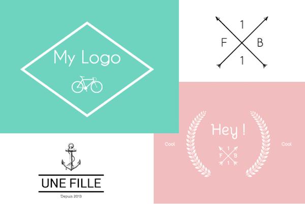 creer un logo blog