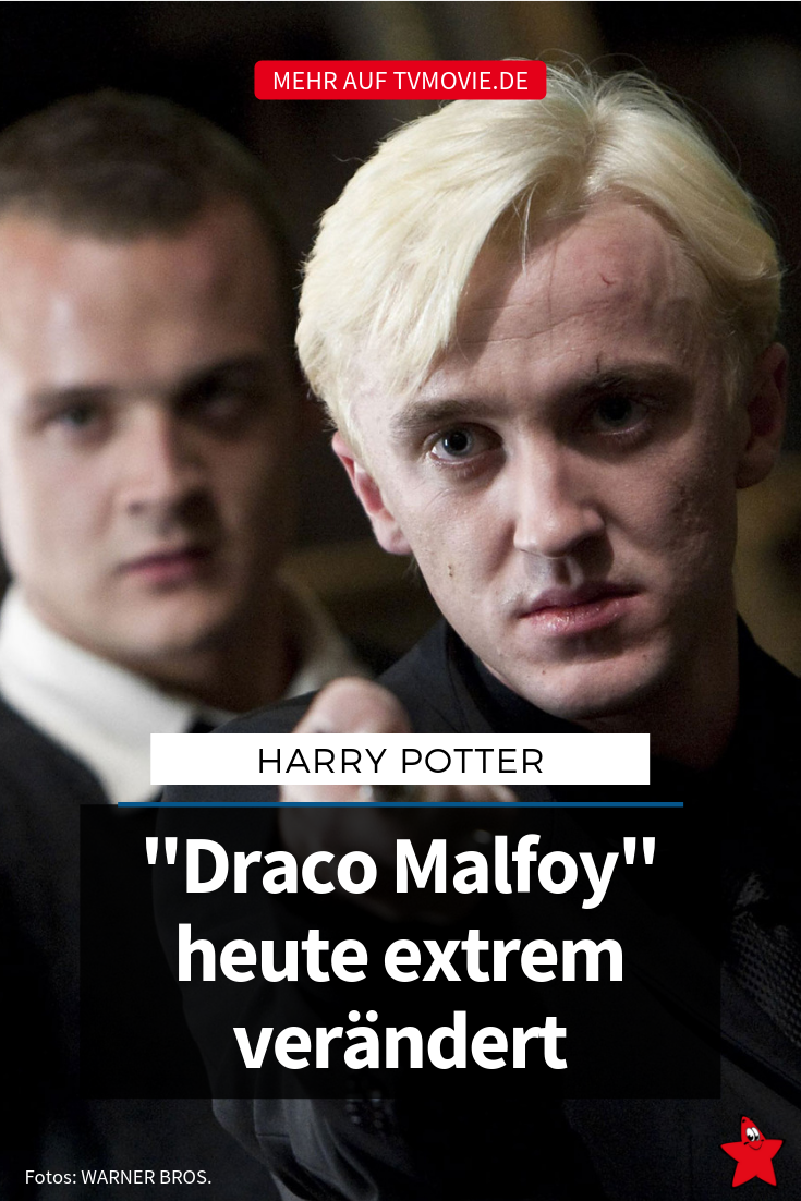 Harry Potter Tom Felton So Heftig Hat Sich Draco Verandert Tom Felton Draco Harry Potter