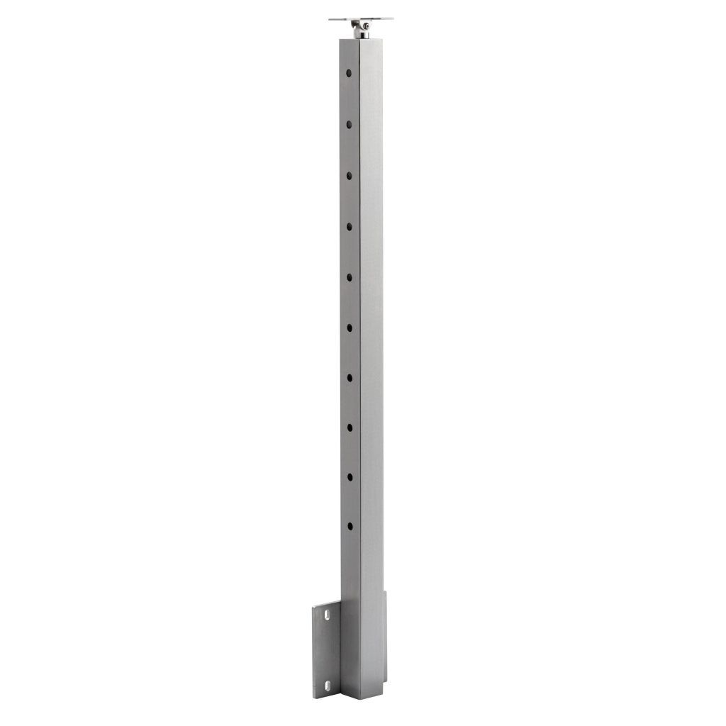 Best Side Mount Universal Top Square 2″ Cable Railing Post In 640 x 480