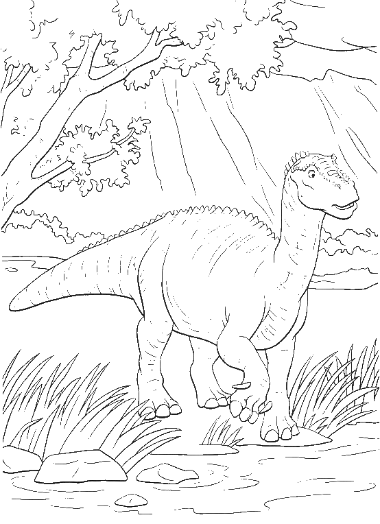 650 Coloring Pages Of Dinosaurs Online Images & Pictures In HD