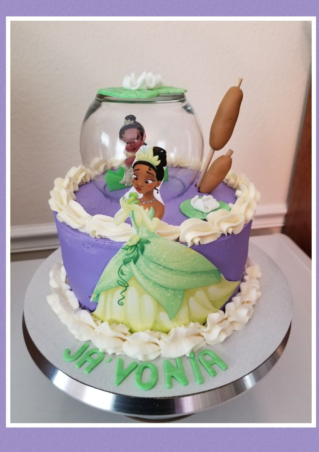 Princess Tiana Birthday Cakeedible Printsnilla Cake