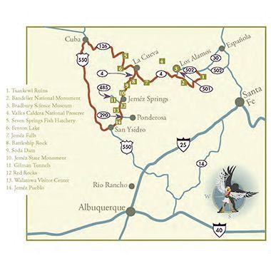 Jemez Mountain Trail National Scenic Byway - New Mexico Tourism ...