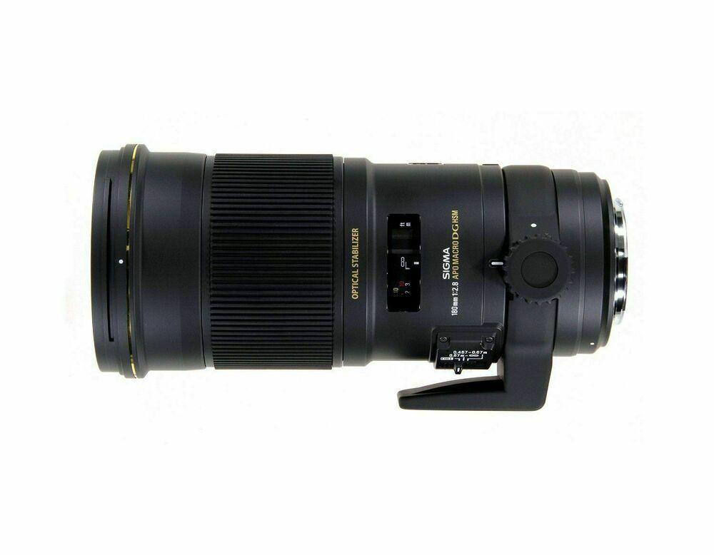 Sigma 28 180 Mm Apo Macro Ex Dg Os Objektiv Fur Nikon Demo Ware Neuwertig Macro Lens Lens Sigma