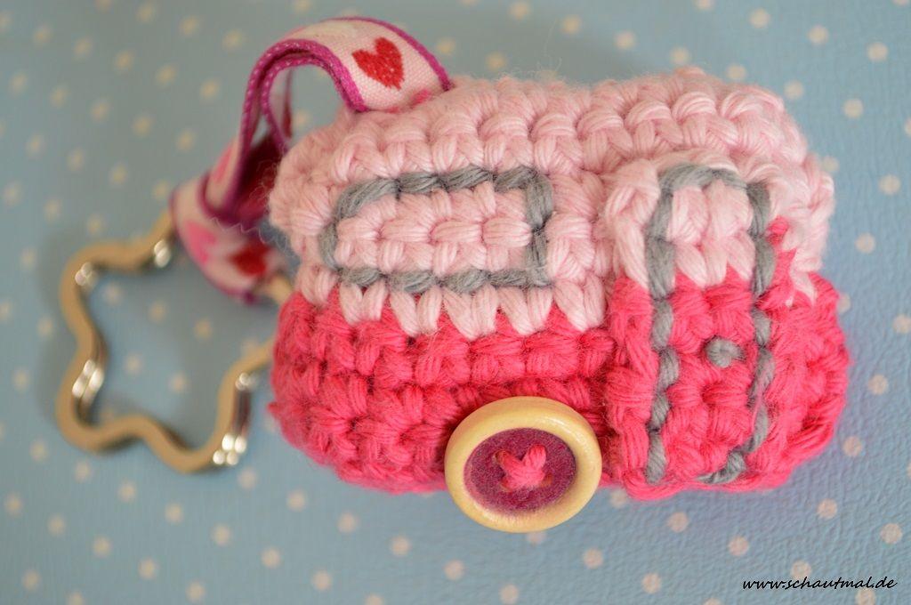 Camper nach Anleitung von Natasja #häkeln #gehäkelt #crochet #Link ...