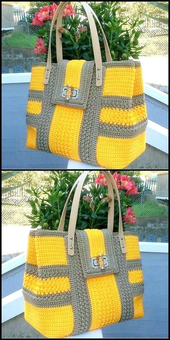 #tote #handbag #crochet #crochetamigurumifreepatterns