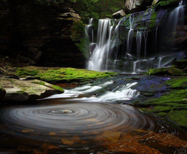 Elakala Waterfalls Blackwater Falls State Park West Virginia Waterfalls Blackwater Falls State Park Blackwater Falls