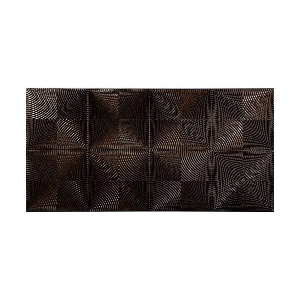 Fasade echo smoked pewter foot x foot wall panel u x