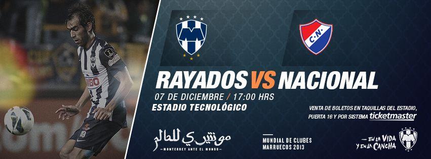 Último partido de preparación rumbo al  MundialDeclubes   Rayados vs.  Nacional de Paraguay 520c401384296