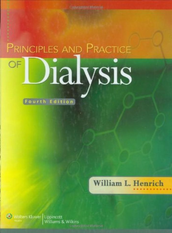 principles and practice of dialysis principles practice of rh pinterest com