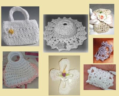 recuerdos para primera comunion a crochet