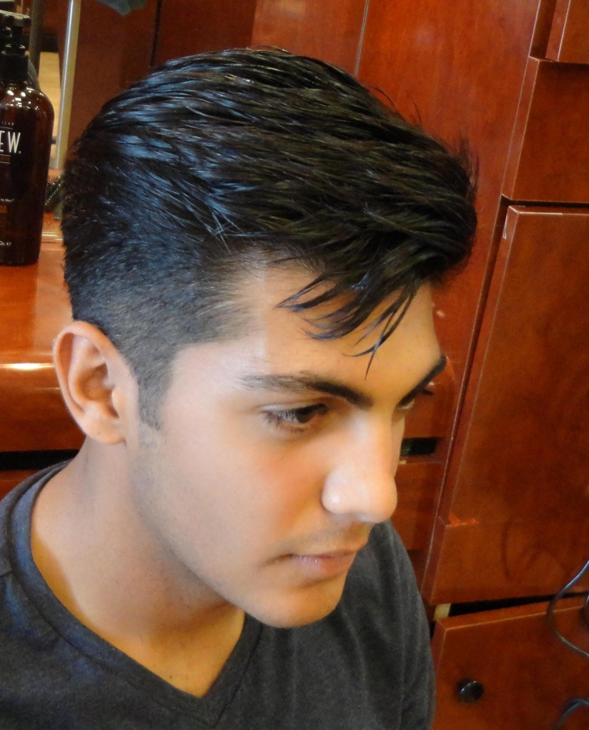 classic hair style men