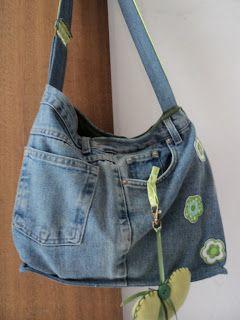 Bolsa Calca Jeans Como Fazer Bolsas De Calça Jeans Usadas