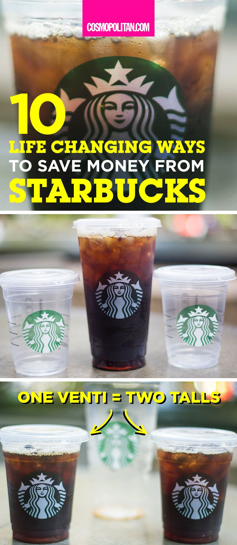 10 Life-Changing Ways to Save Money at Starbucks