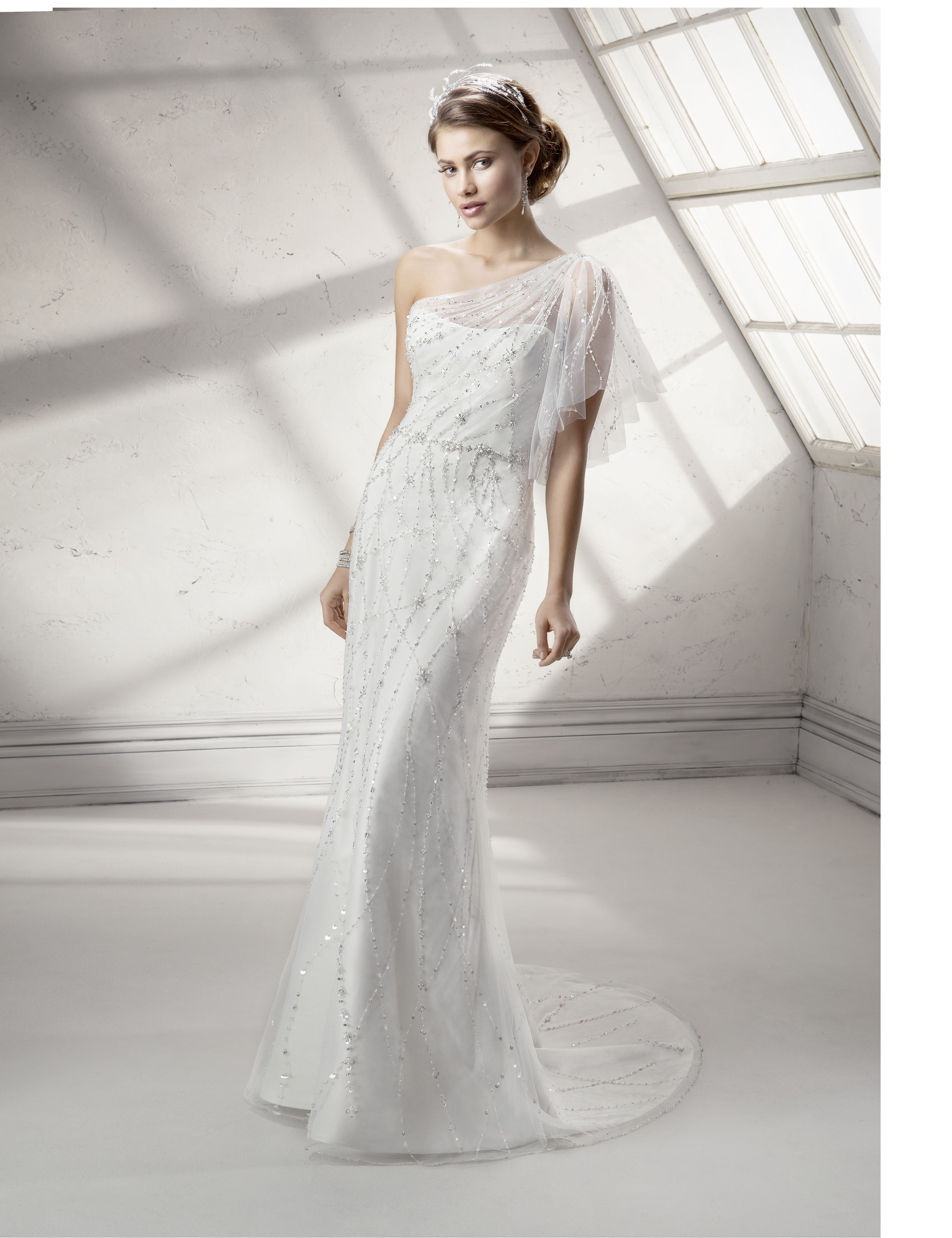 Skye, part of our gorgeous new collection. #weddingdress